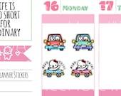 Munchkins - Road Trip Car Travel Munchkin Planner Stickers (M265)