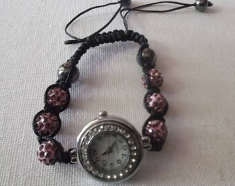 Bracelet Shamballa watch