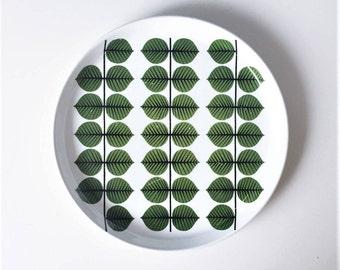 Swedish Vintage Berså Big dinner plate 2 Gustavsberg // Stig Lindberg // Made in Sweden // Berså Sweden // 1960-1974 Swedish classic Retro