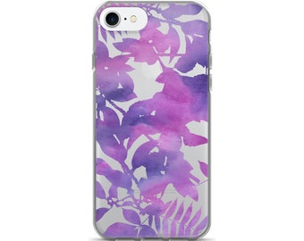 Leaves Clear iPhone 7 Case iPhone 6s Case Transparent iPhone 6 Case - iPhone 5 Case - iPhone 5S Case - iPhone 6 Plus Case