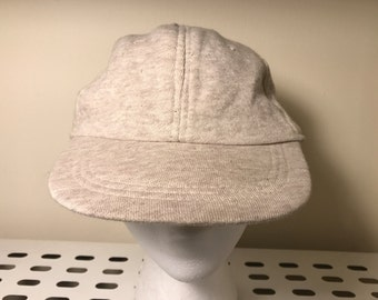 Tan and White Flecked Hat
