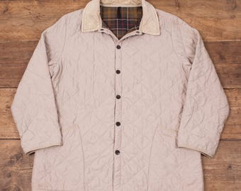 "Mens Vintage Barbour Classic Eskdale Quilt Quilted Jacket XL 48"" R5299"