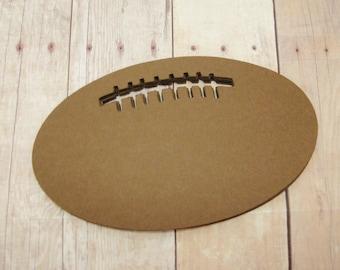 Football Cutouts-Paper Footballs-Sports Scrapbooking-Kids Crafts-Football Party Decor-Super Bowl Table Decor-Classroom Decorations