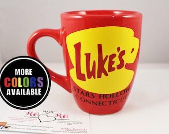 Gilmore Girls mug. Luke's Diner Coffee Mug.Stars Hollow.