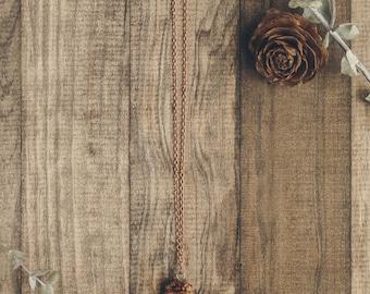 Pinecone Necklace | #2