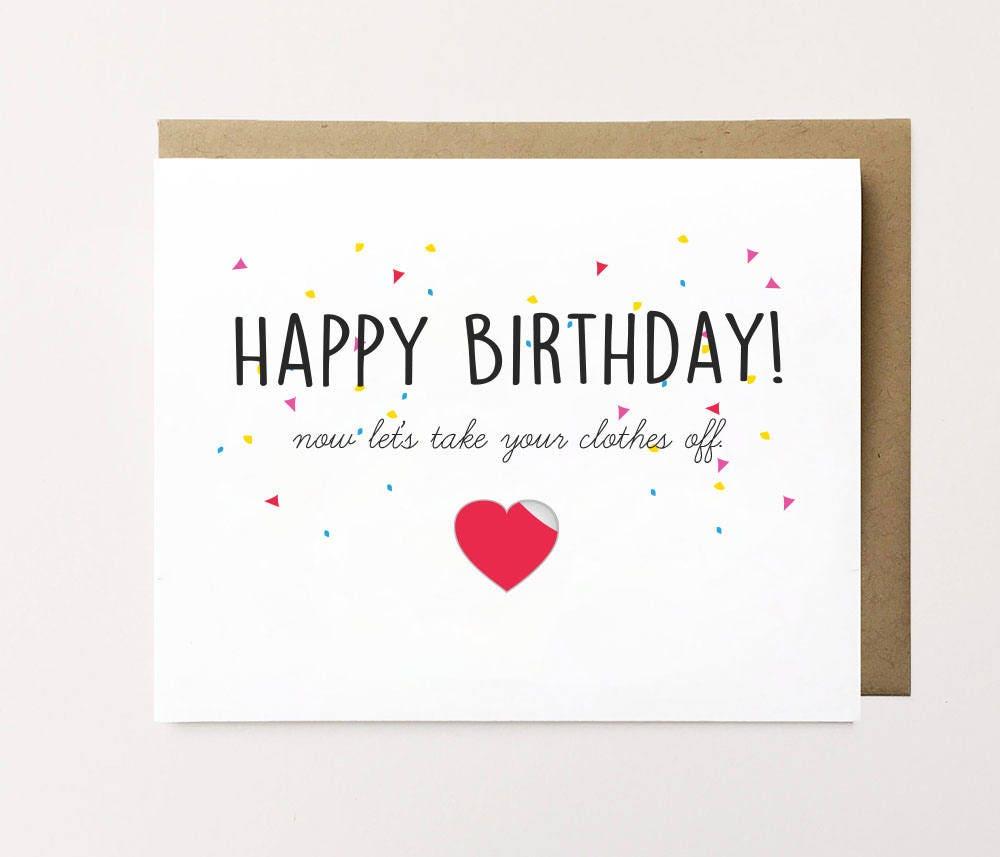 Funny birthday card Cheeky birthday card Birthday card for – Happy Birthday Cards for Him