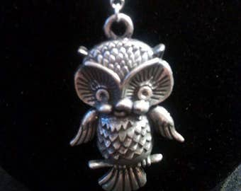 Happy Owl Necklace
