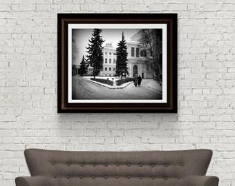 Russia Photography - St. Petersburg Photograph - Original Fine Art - Digital Download - Winter Photograph - Instant Download