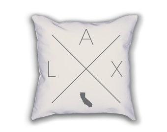 Los Angeles Home Pillow - California Pillow, California Home Decor, Los Angeles Home Decor, California Home Pillow, California Throw Pillow