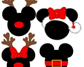 mickey christmas svg, minnie christmas svg, disney svg, christmas svg, Christmas svg, Disney christmas svg, Mickey cut file, svg files