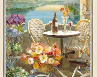 Le Cafe' - Panel - Wilmington Prints -  Danhui Nai - Panel