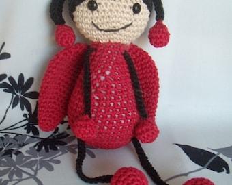 Ladybug crochet