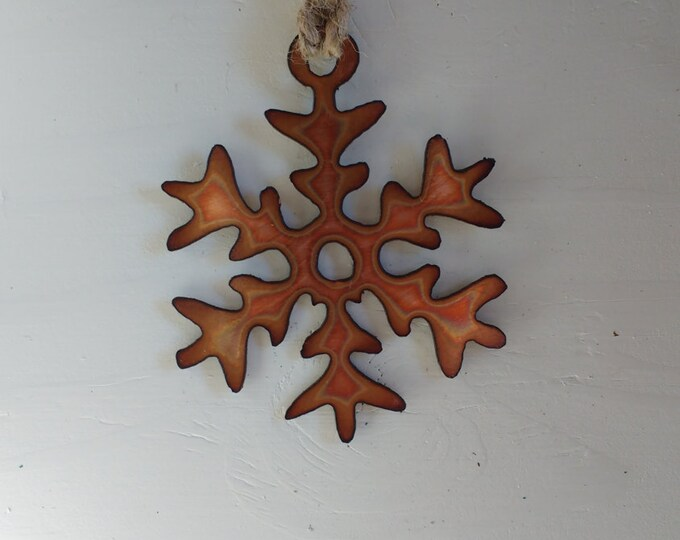 "Copper ""Elsa"" Snowflake"