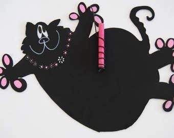 Flying Cat Chalkboard
