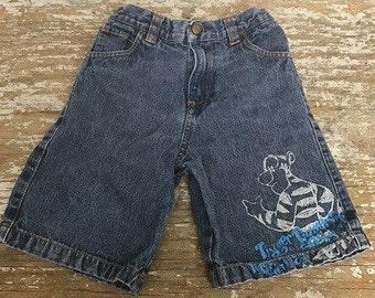 Vintage Toddler Pre-Washed Denim Shorts Size 4T