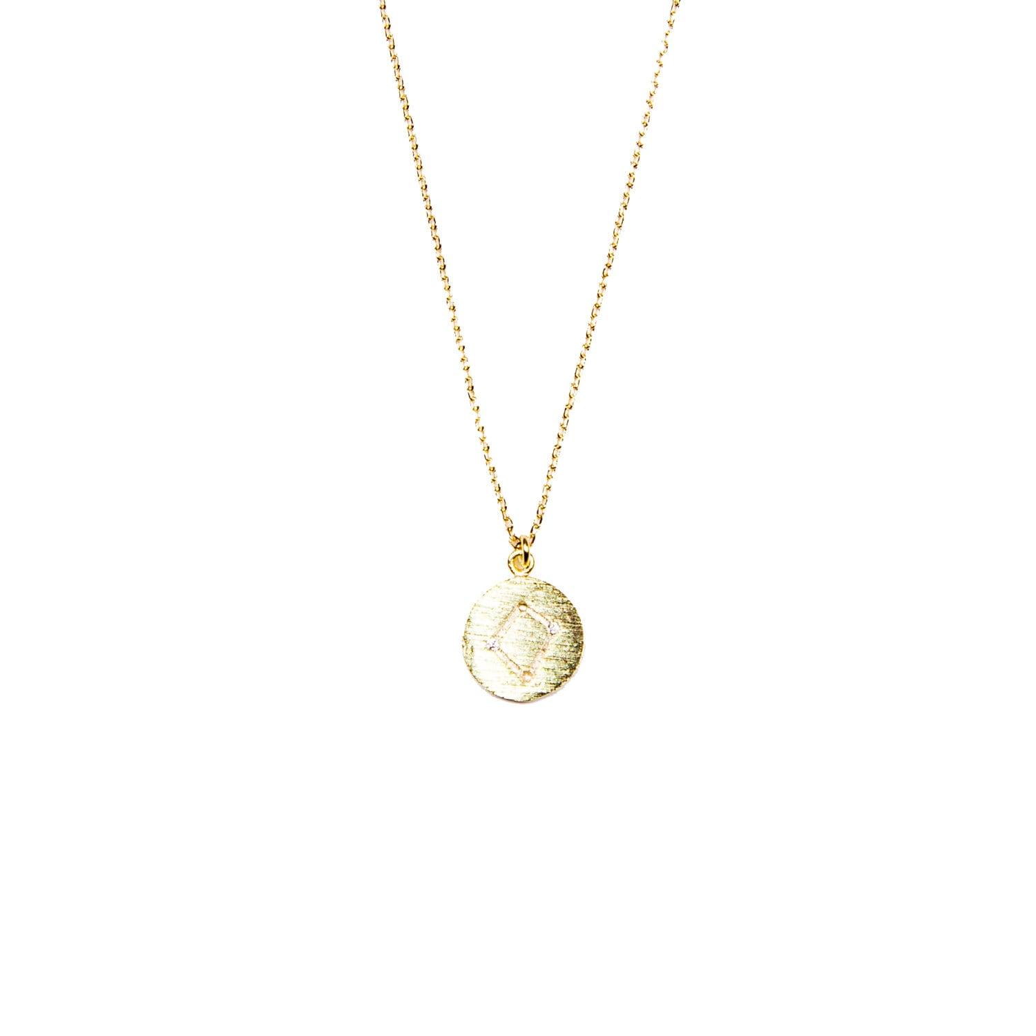Libra Constellation Necklace / Libra Zodiac Sign Necklace