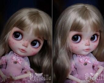 OOAK Custom Blythe doll Face up and Customized Blythe Toys doll