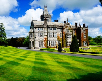 Adare Manor Print, Ireland Photography, Co Limerick, Fine Art Photography, Large Wall Art, Wall Decor, Irish Gardens, Europe - Adare Manor