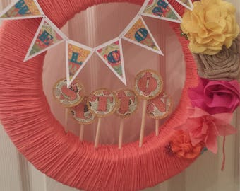 Baby Shower Welcome Wreath
