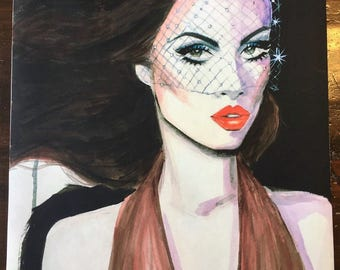 Limited Edition Fine Art Print Inspired by 1970's Studio 54