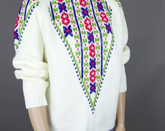 60s NORDIC STYLE sweater