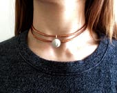 Raw Copper Choker