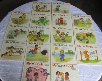 "1984 Edition of My ""alphabet"" Book Series by Jane Moncure"