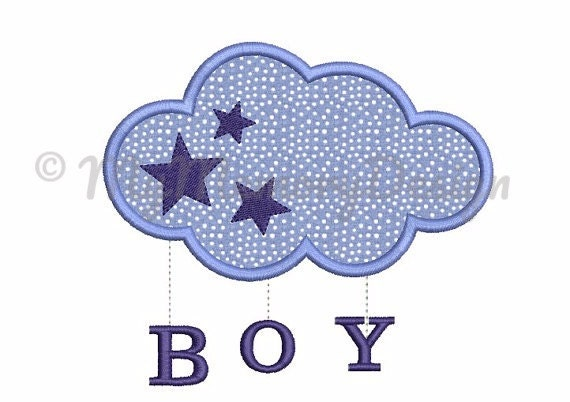 New baby embroidery design Boy embroidery Birth design