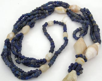 D'jenne Beads - Ancient Stone Beads Excavated - Southern Sahara - Mali - 400-900 Years Old - Glass