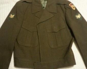 Vintage Army Class A Service Jacket