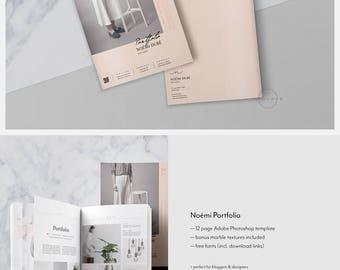 cosmetology portfolio template - designer resume etsy