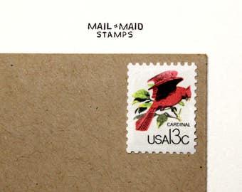 Canadian Philatic Exibition - Cardinal || Set of 10 unused vintage postage stamps