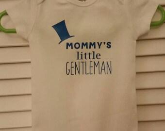 Mommy's Little Gentleman Onesie - Short Sleeved CARTER'S Onesie