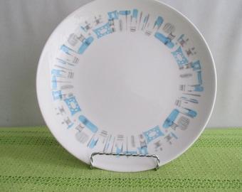 Blue Heaven Royal China Dinner Plate