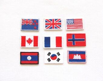 Miniature Flag patch set
