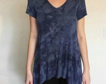Blue Cloud Tie-Dye Shirt