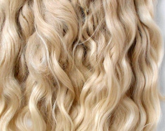 Doll Hair Mohair,doll hair,Goat curls for dolls, curls for doll hair, doll hair,goat locks