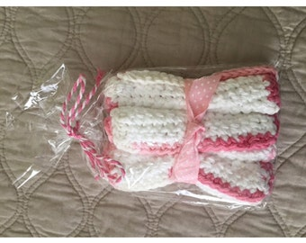 Baby Wash Cloths (Set of 3)