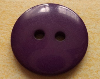 12 purple buttons 18mm (6497)