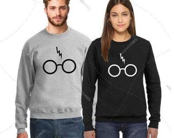 "Unisex - Premium Retail Fit ""Wizard"" 2017 Crewneck, Sweater, Jumper, Fleece (S,M, L, XL+) Fashion - Oversized? Order big!"