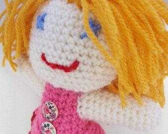 Amigurumi. Crochet doll. Zanda