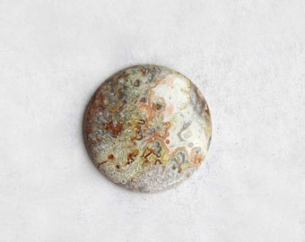 Crazy Lace Agate Round Cabochon - Natural Stone Cab
