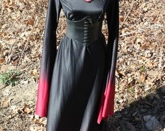 Medieval Costume, Vampire, Goth, Medieval, Elvira, Ladies Size Medium