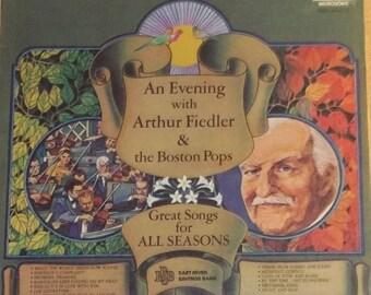 An Evening With Arthur Fiedler & The Boston Pops Sealed Vinyl Record Album