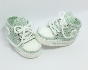 Baby shoes, chucks, Gr. 16, mint