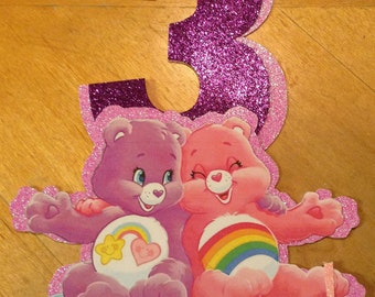 Carebears Personalized Cake Topper