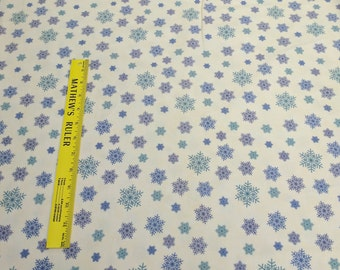 Winter Forest Flannels-Blue Snowflakes from Moda