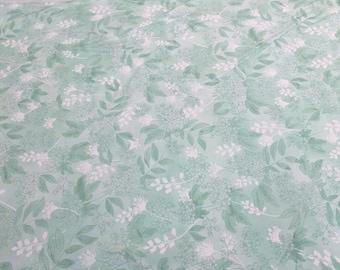 Fresh Cut Tonal Bermuda-Green Cotton Fabric from Moda