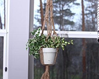 Macrame Plant Hanger - Plant Hanger