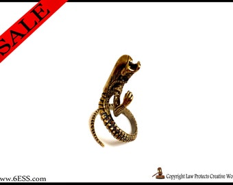 Alien Ring,Alien Jewelry,Adjustable Alien ring,Predator Ring,Xenomorph ring,Science Fiction Creature Animal Jewelry